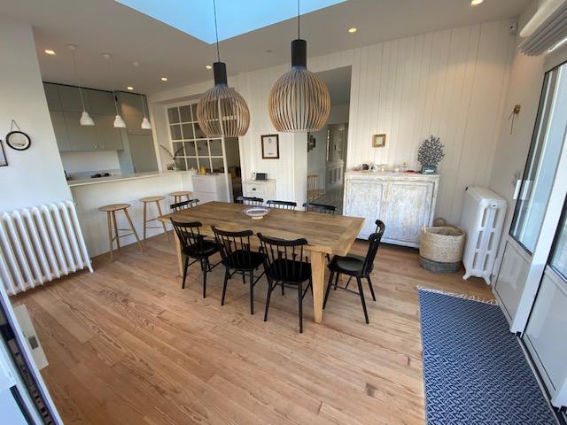 À vendre belle villa de prestige à La Baule quartier Benoit, à 50 m de la mer, résidentiel, proche port et centre ville du Pouliguen