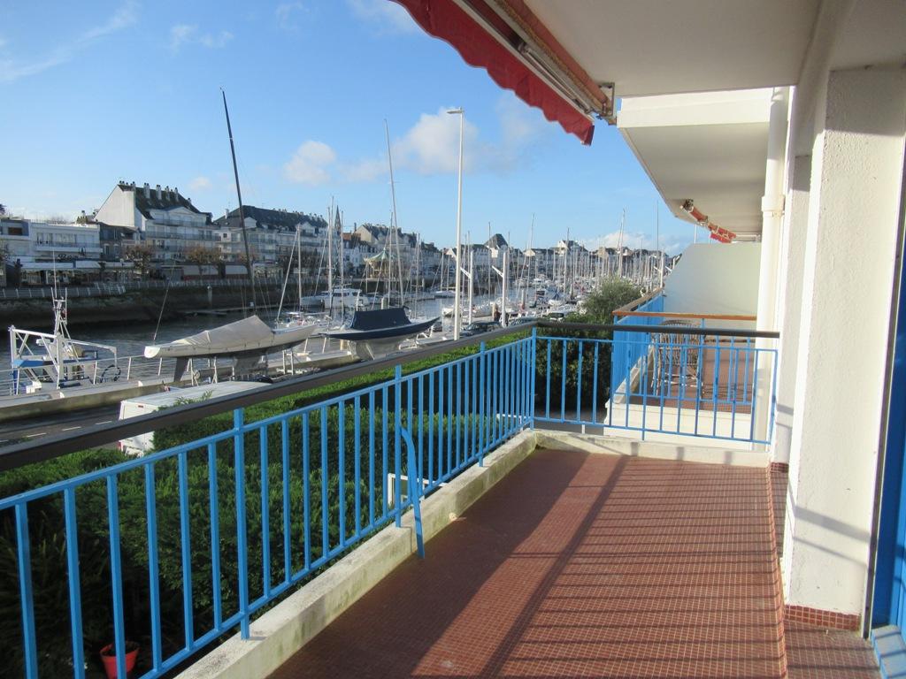 T4 la Baule  vue port du Pouliguen