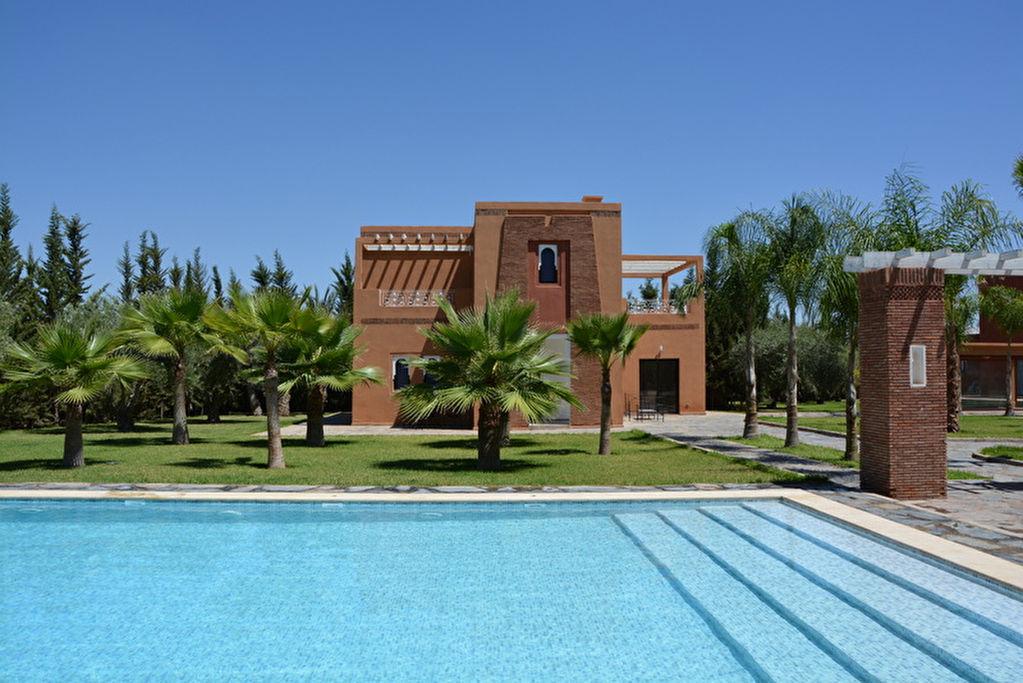 Belle villa marrakech for Prestige immobilier location