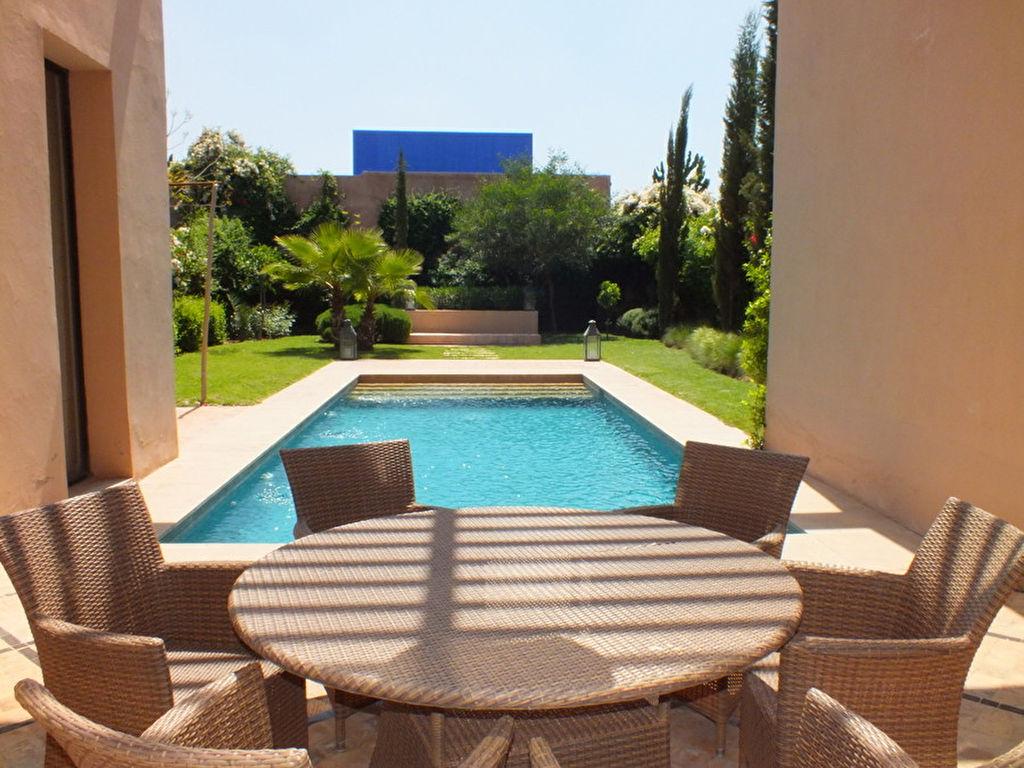 Villa de charme marrakech for Prestige immobilier location