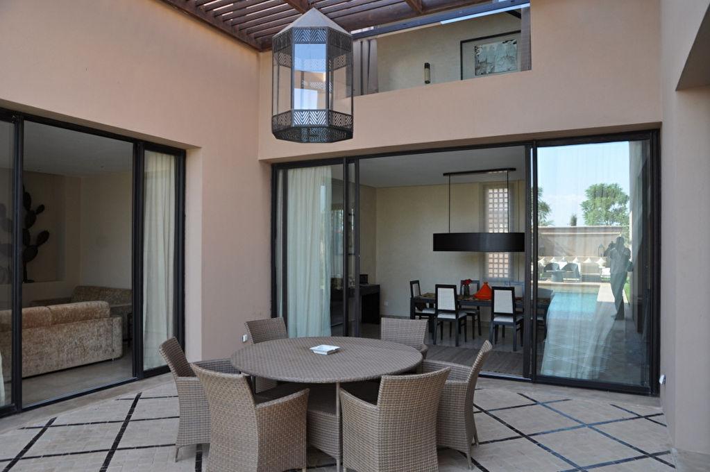 Villa style riad marrakech for Prestige immobilier location