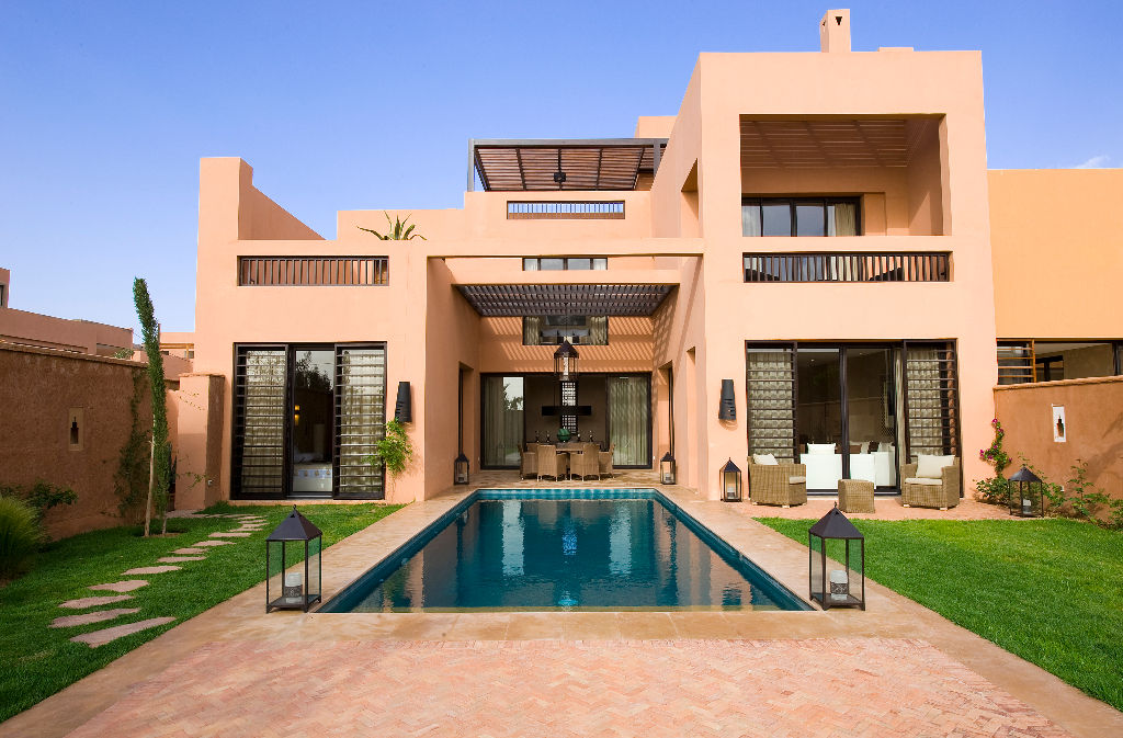 Magnifique villa marrakesh for Location immobilier prestige