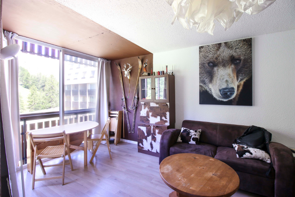 T2 d'angle 36 m² avec balcon vue et imprenable sur la montagne