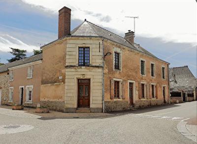 Maison de ville 5 pièces Saint Laurent Des Mortiers