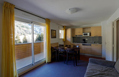 T3 48 m2 avec balcon dans résidence standing avec piscine intérieure