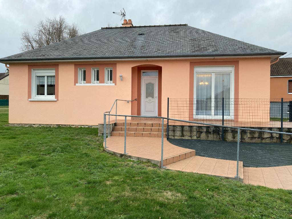 Maison 4 pièces plain-pied, 90 M2 - Villaines-La-Juhel