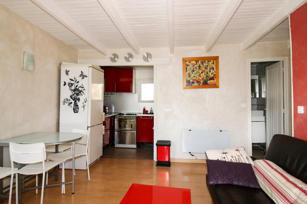 Charmant T3 indépendant avec balcon Sud et espace extérieur