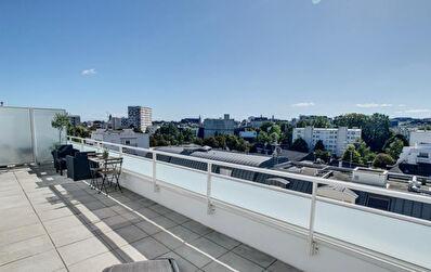 T3 neuf avec toit-terrasse de 52M2 centre ville