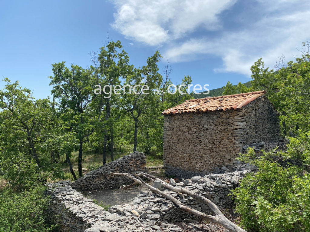 Shed Simiane-la-Rotonde with 1.38 hectares of land