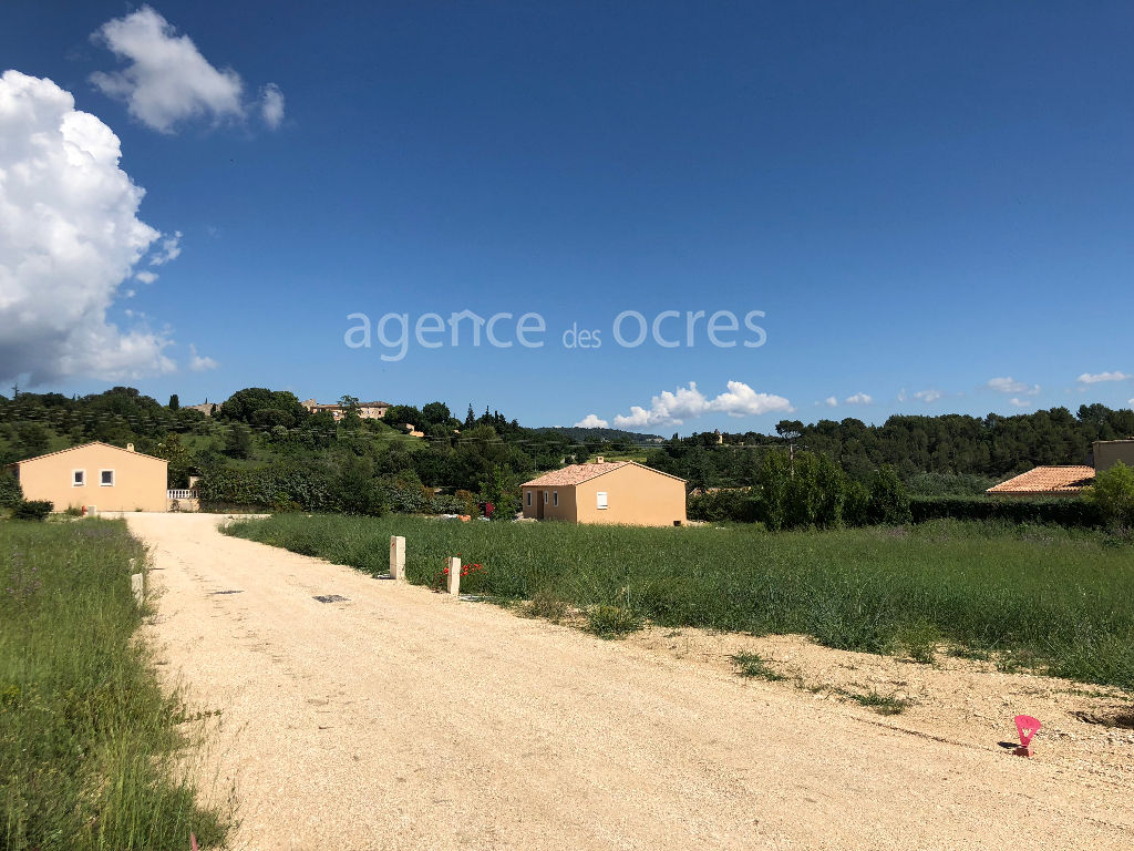 Ground 927m ² fully serviced - Saint Saturnin les Apt