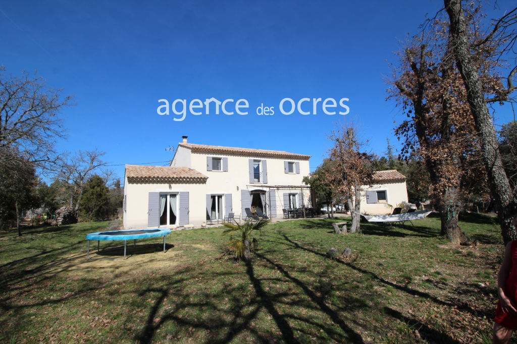 House of recent architect 2015 full south of 210m ² with garden of 2000m ²