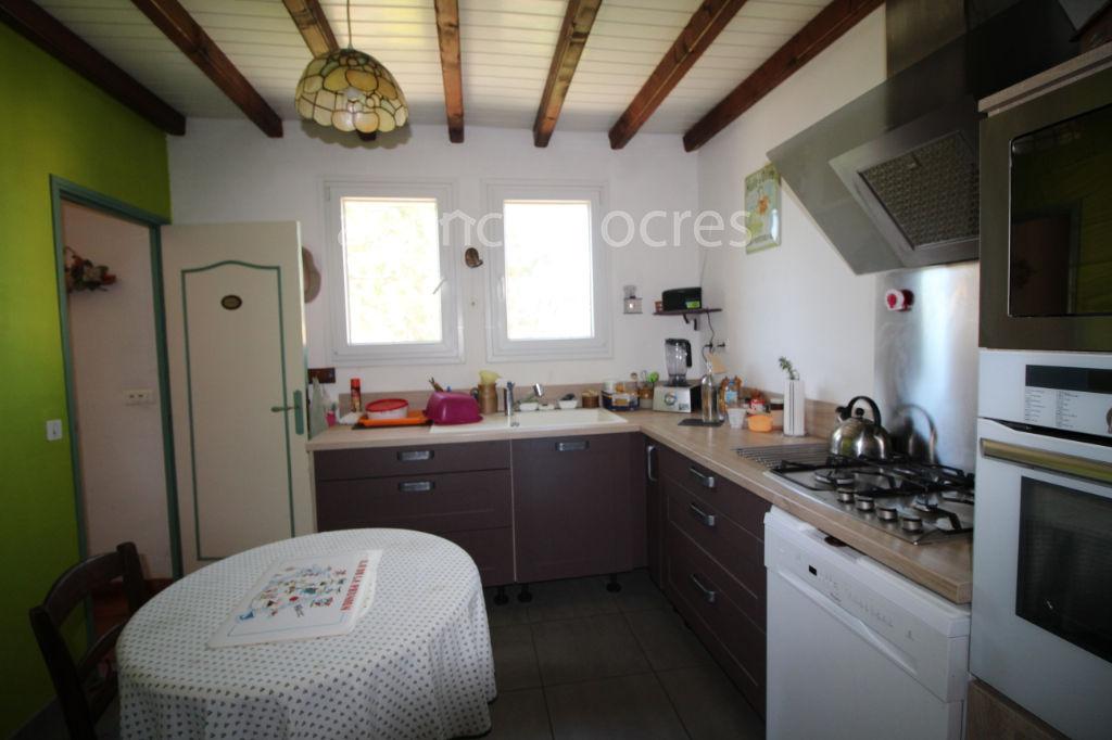 Maison 126m² avec garage.