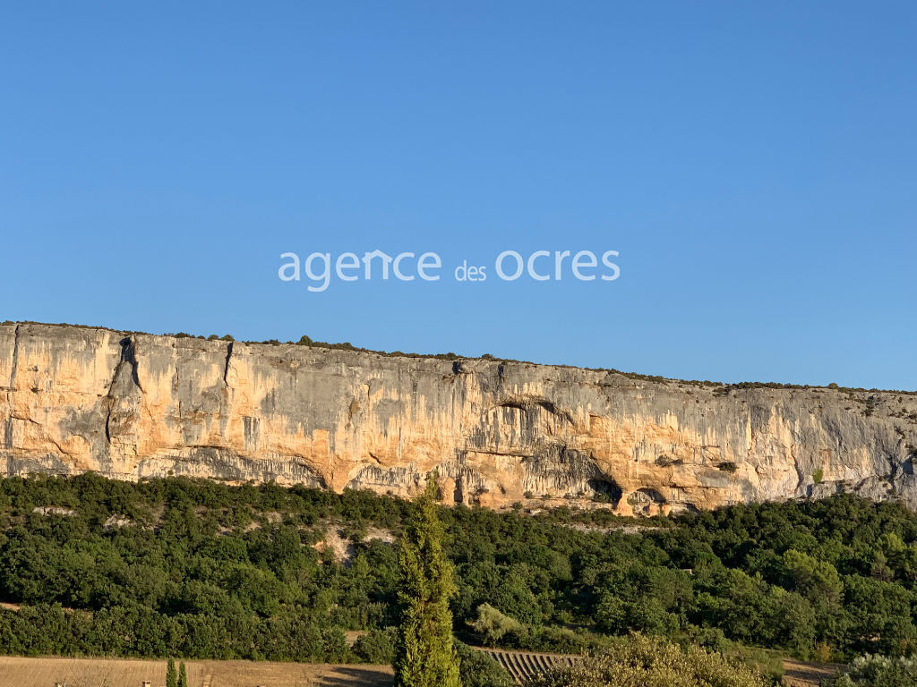 House with beautiful views near Gordes