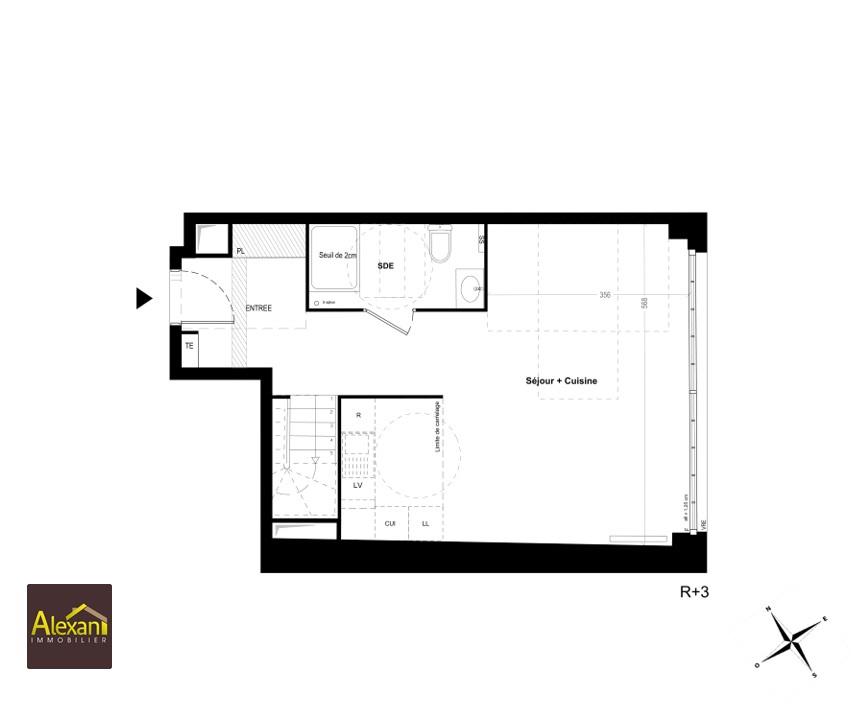 Vente appartement Bagnolet 614000€ - Photo 2