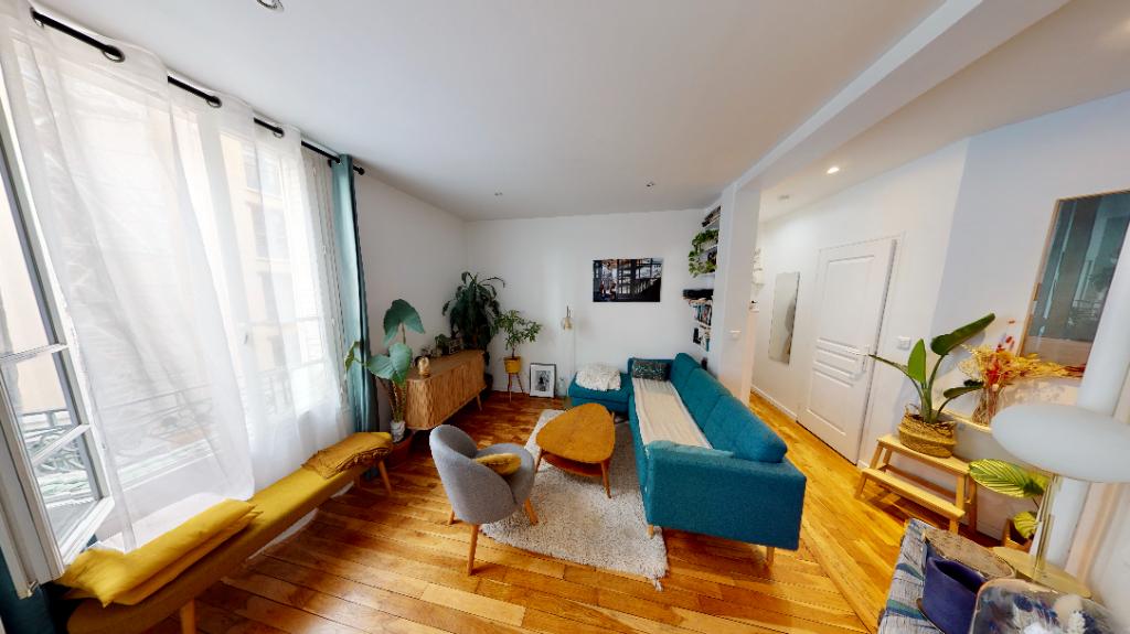 Sale apartment Paris 20ème 387000€ - Picture 1