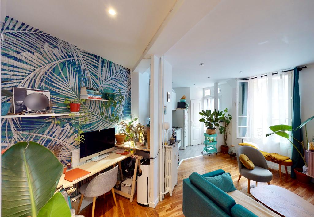 Sale apartment Paris 20ème 387000€ - Picture 3