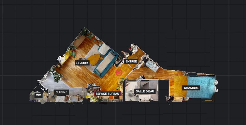 Sale apartment Paris 20ème 387000€ - Picture 7