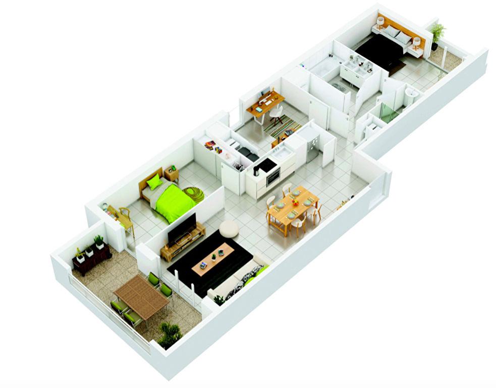 Vente Appartement de 4 pièces 81 m² - MARSEILLE 13011 | AGENCE ETOILE - MARSEILLE - AR photo4