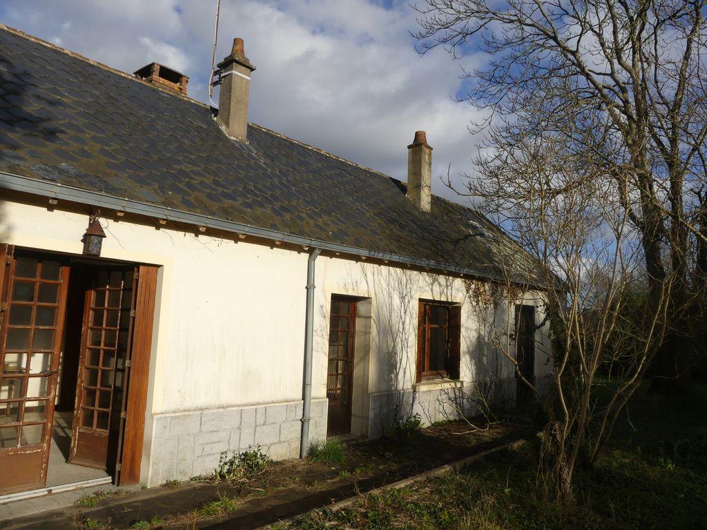 Maison à rénover Saint Clement Des Levees 4 pièce(s) 87 m2