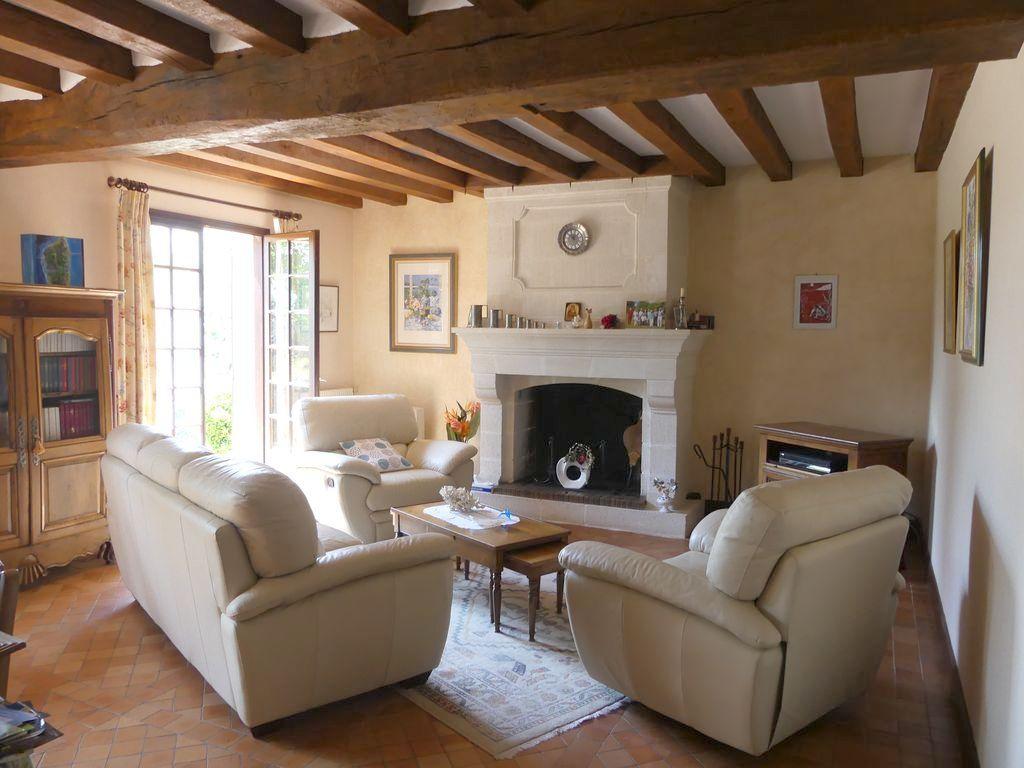 Grande Maison familiale St Jean Des Mauvrets – 5 chambres -193 m2