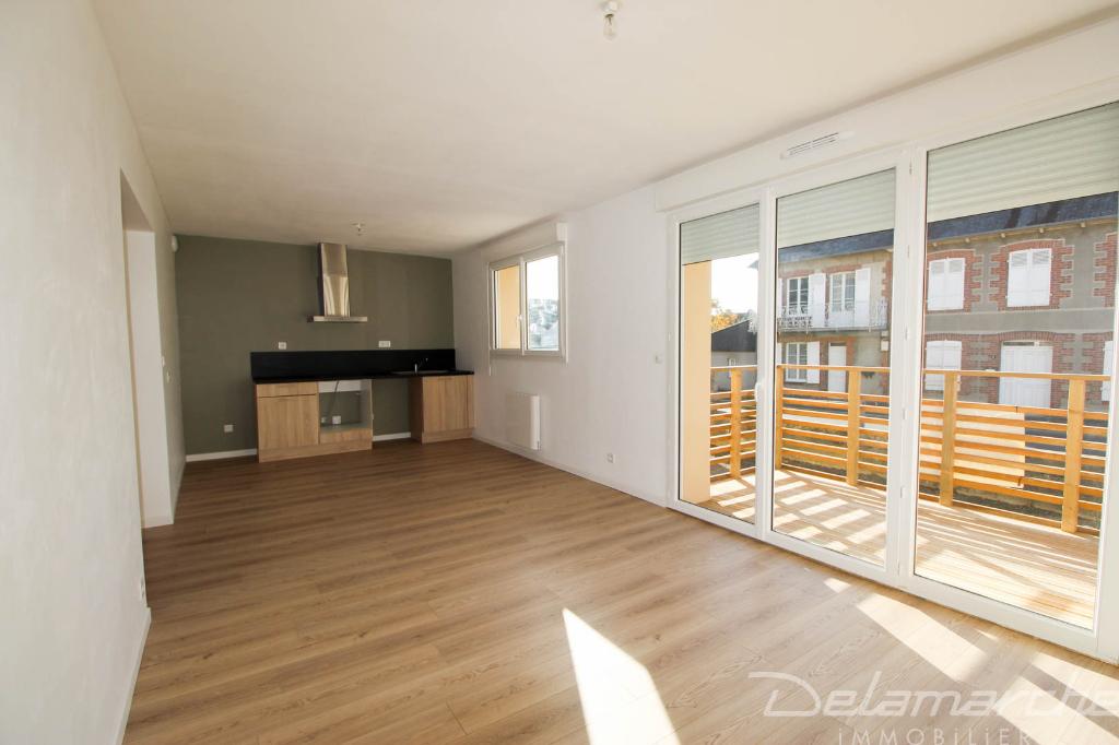 photo de Appartement Brehal 3 pièce(s) en rez de chaussé