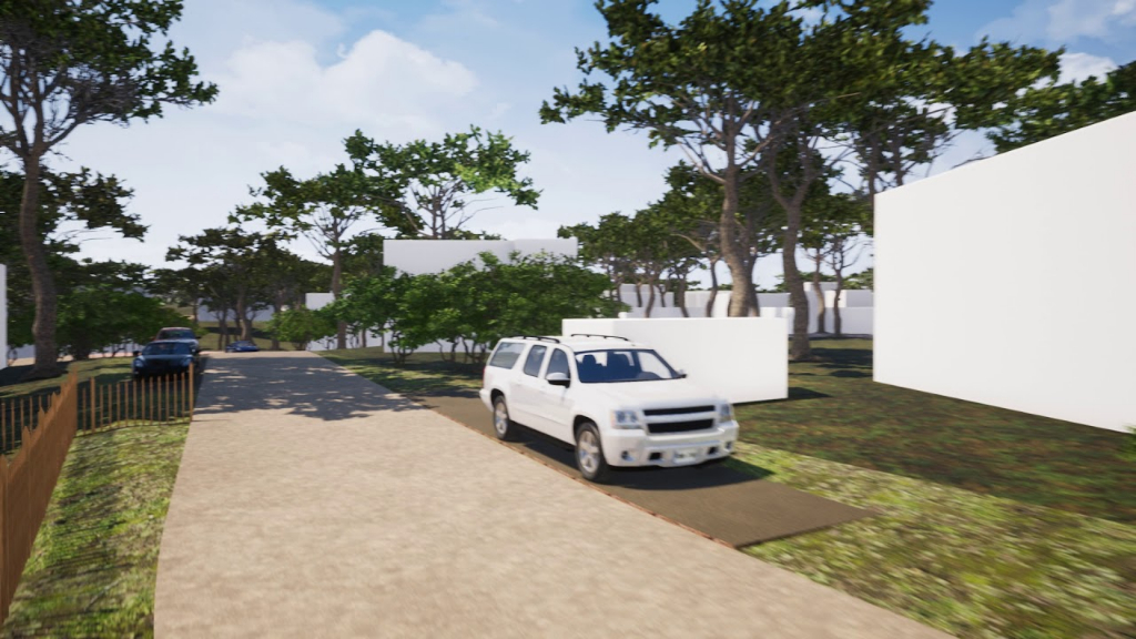Terrain Abatilles 800 m² - Lot2