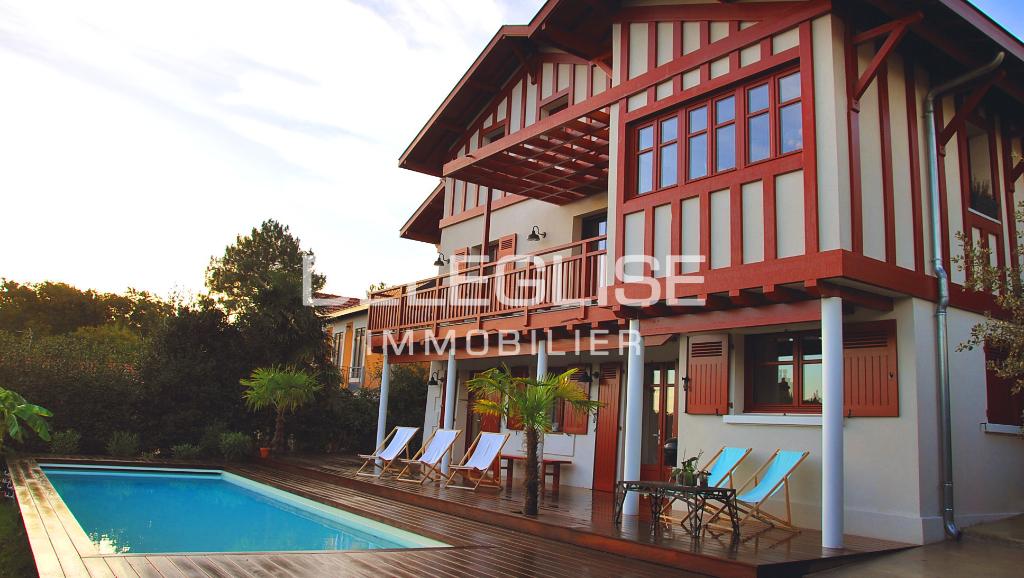 Villa Basque  - Ville d'Hiver