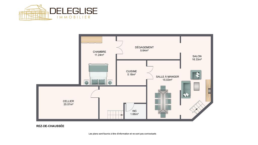 Maison Arcachon  Centre - 4 pièce(s) 110m2