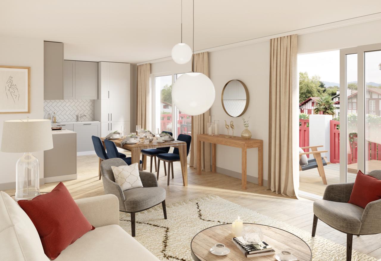 vente appartement à URRUGNE - 525 000