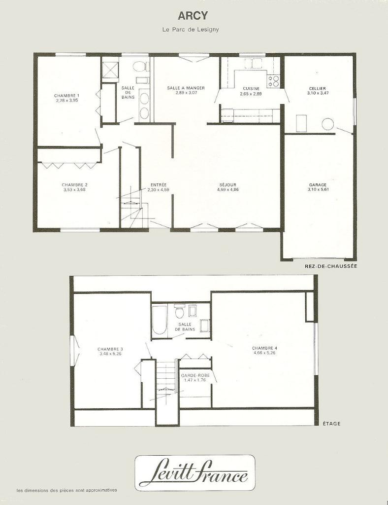 Maison de 6 pièces