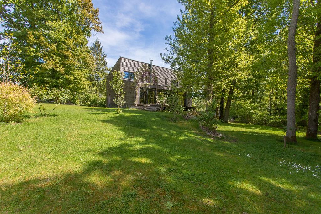 Maison d 39 architecte passive avec vue exceptionnelle la for Architecte maison passive