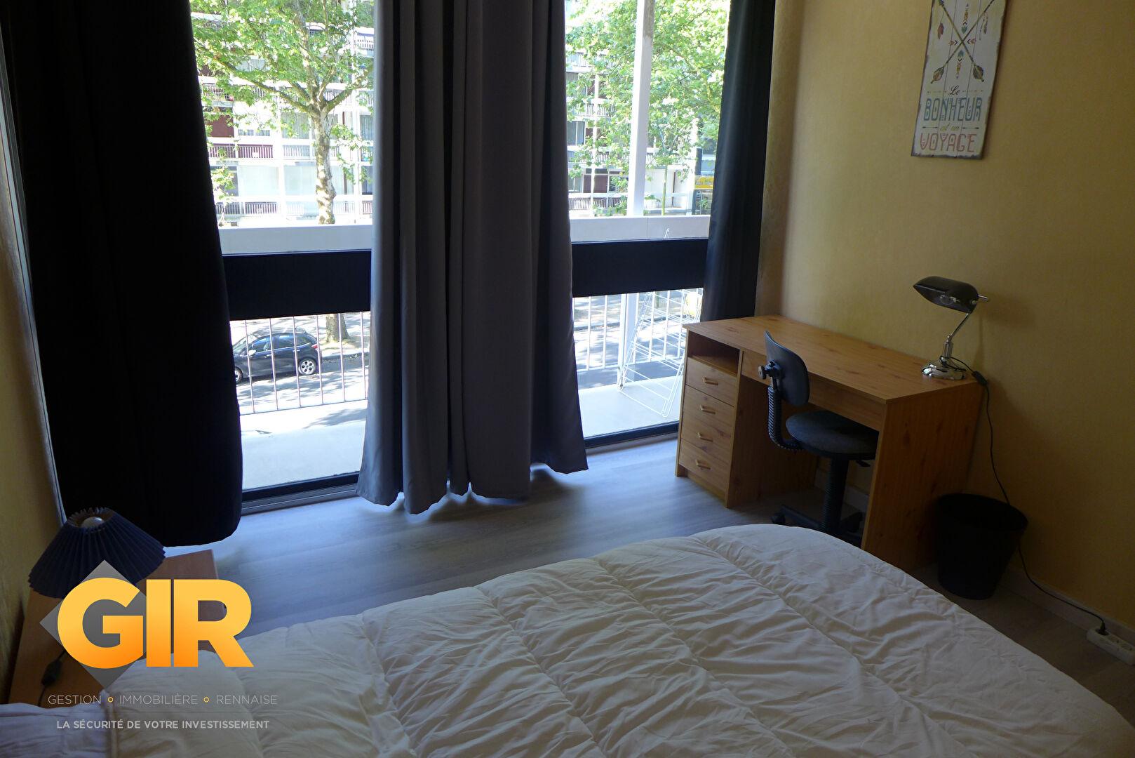 Rental apartment Rennes 350€ CC - Picture 1