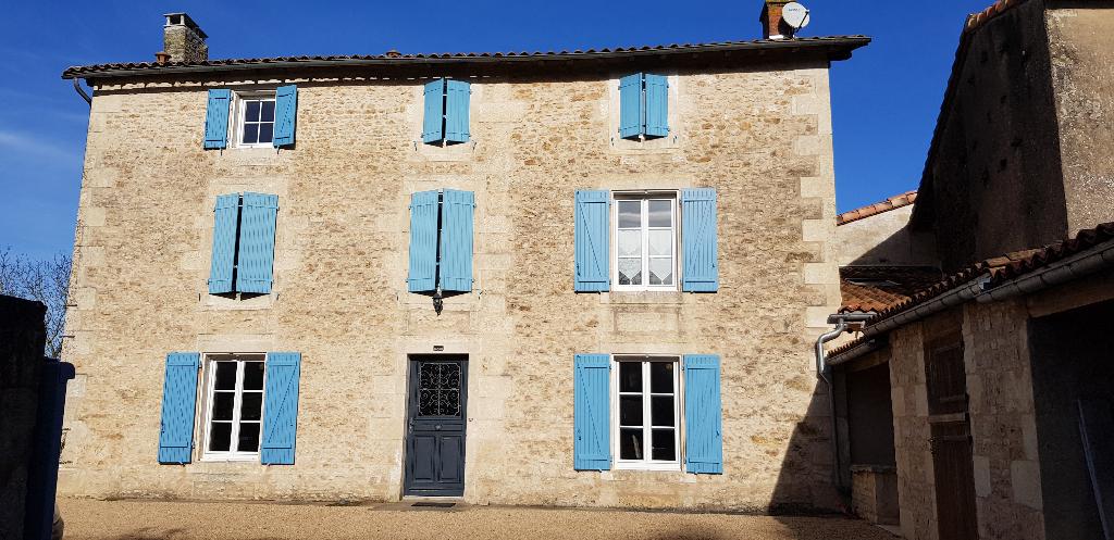 Vente maison / villa Saint martin de saint maixent 322000€ - Photo 1