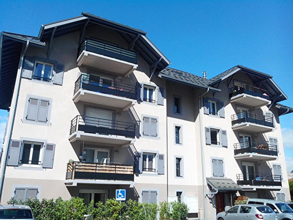 Rental apartment Saint gervais les bains 800€ CC - Picture 1