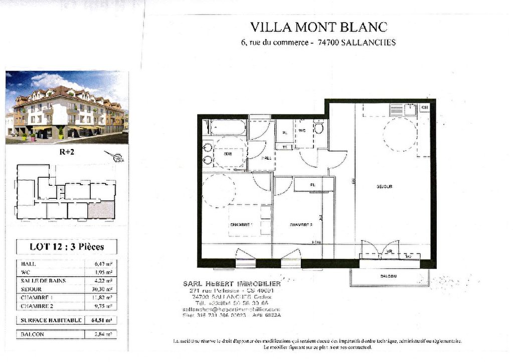 Sale apartment Sallanches 241000€ - Picture 2
