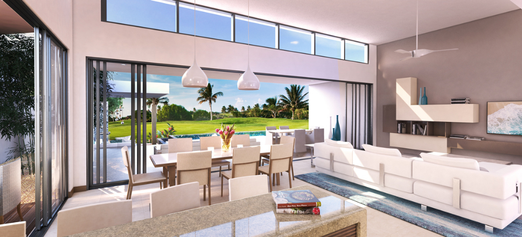 4 bedroom villa with golf view in Mauritius - 3 | Caractère international