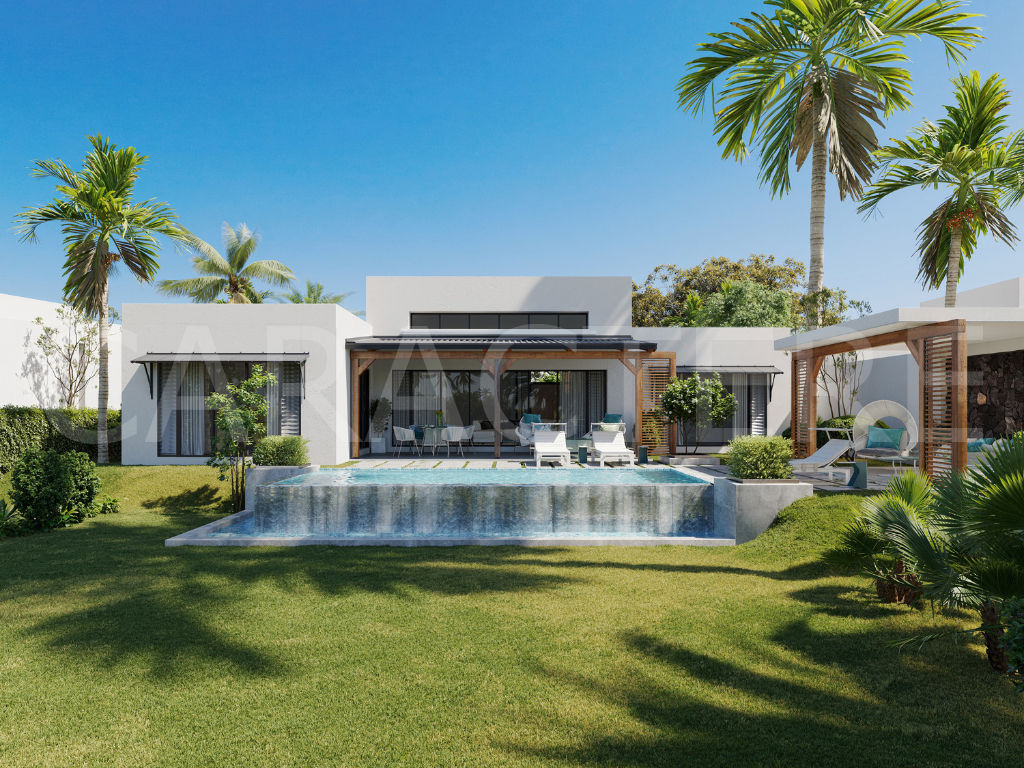 VIlla 4 bedrooms with swimming pool in Mauritius | CARACTERE international