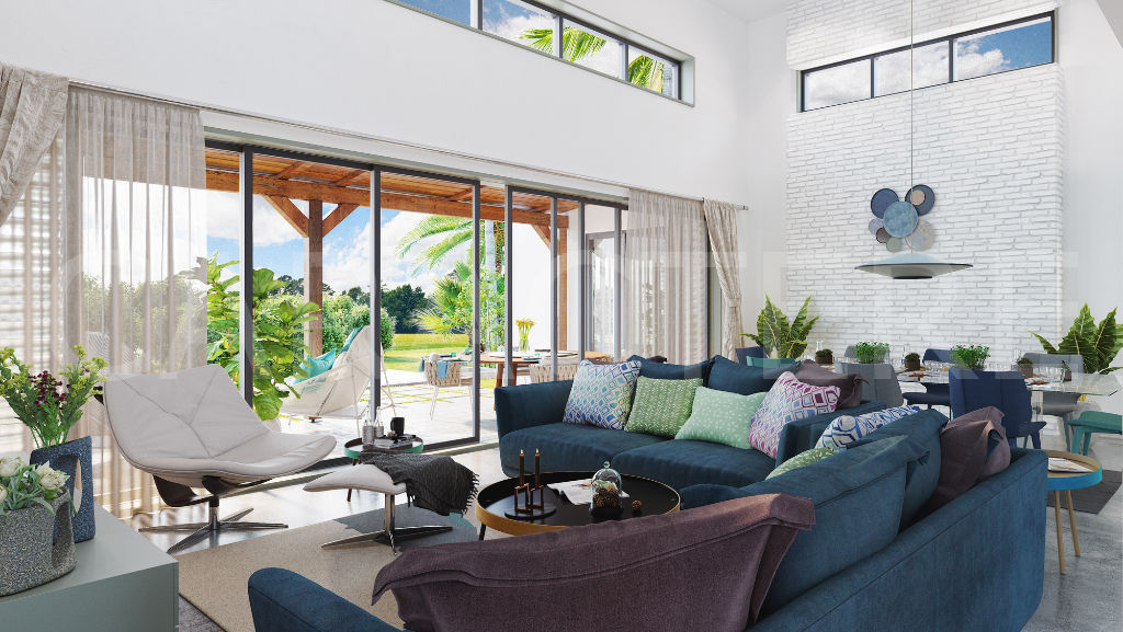 VIlla 4 bedrooms with swimming pool in Mauritius - 3 | Caractère international