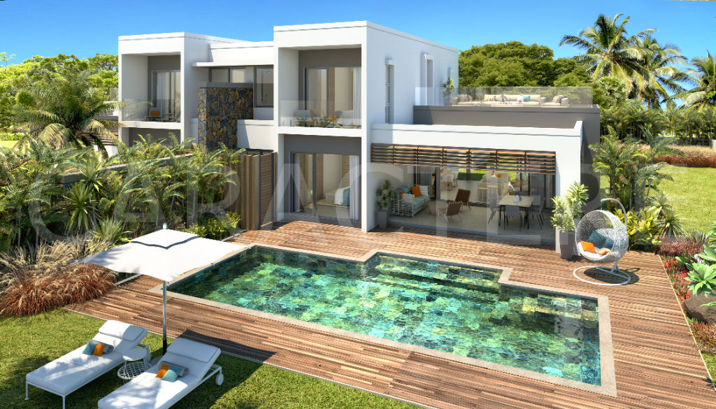 Villa 3 bedrooms East Coast Mauritius | Caractère international