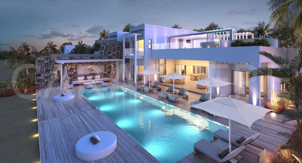 Villa 4 bedrooms East Coast of Mauritius | Caractère international