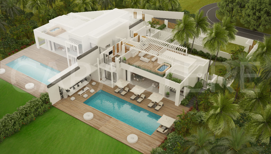 Villa 4 bedrooms East Coast of Mauritius - 2 | Caractère international