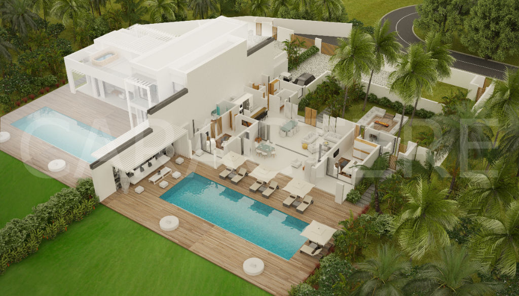 Villa 4 bedrooms East Coast of Mauritius - 4 | Caractère international