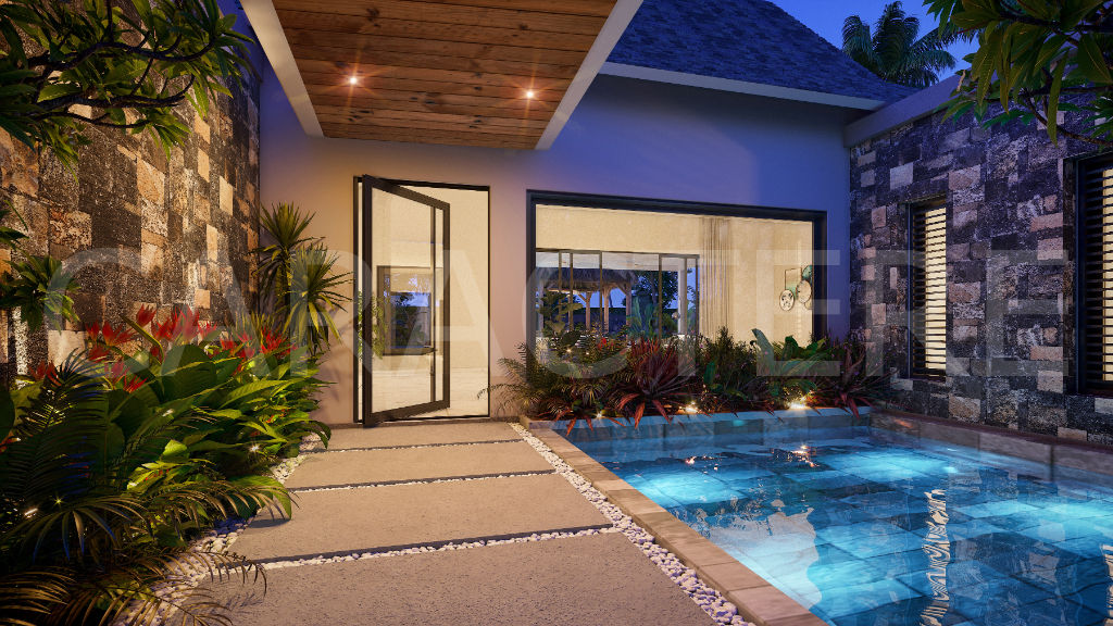 4 bedroom villa in Mauritius - 2 | Caractère international