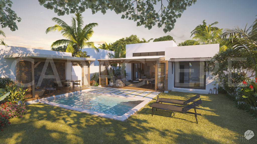 3 bedroom villa Mauritius | 1  | Caractère international