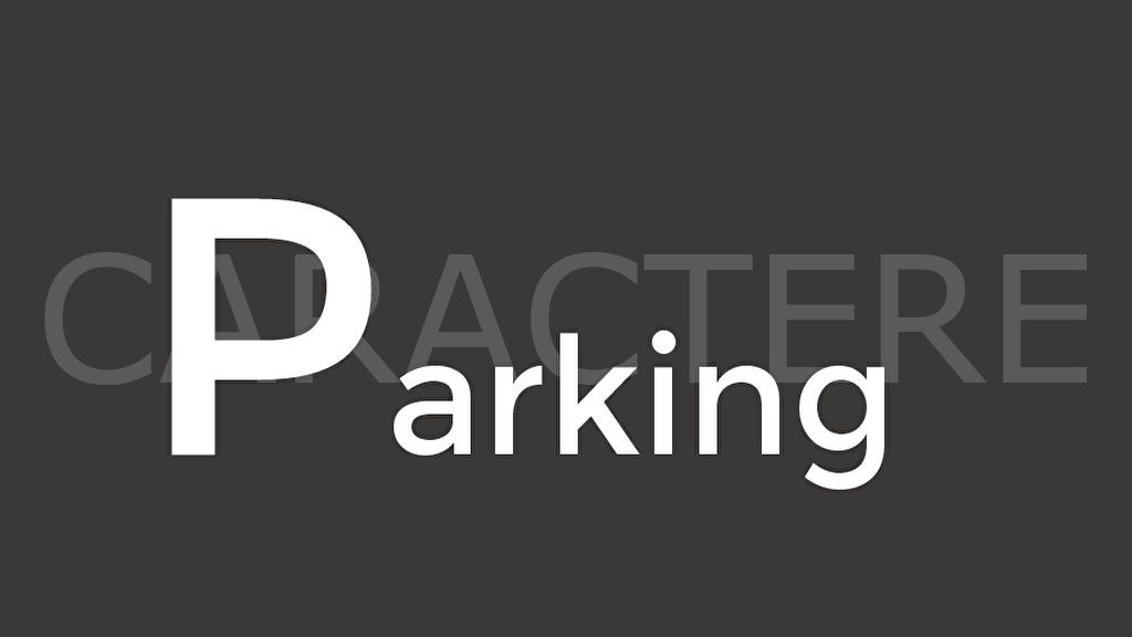 Parking / box Auxerre - 1 | Caractère international