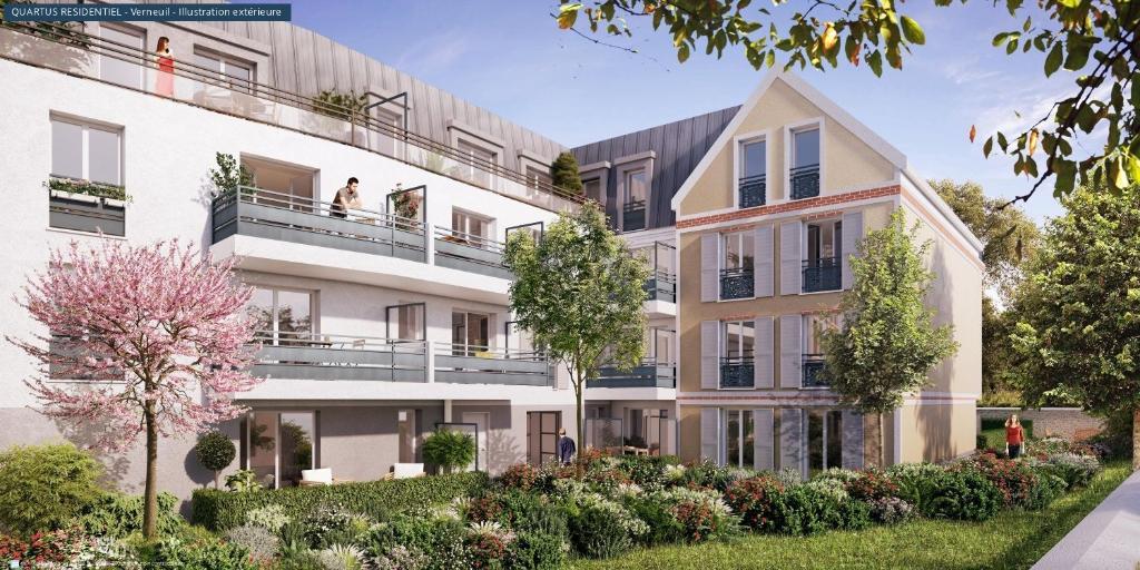 Sale apartment Verneuil sur seine 210000€ - Picture 2