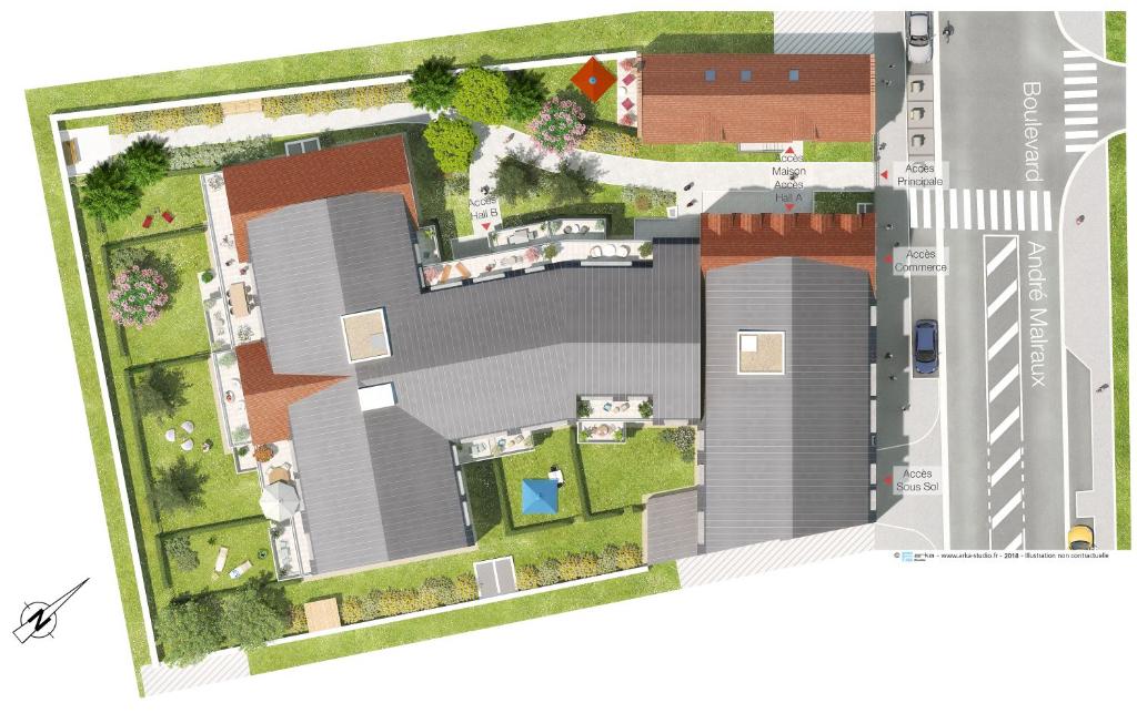 Sale apartment Verneuil sur seine 225000€ - Picture 4