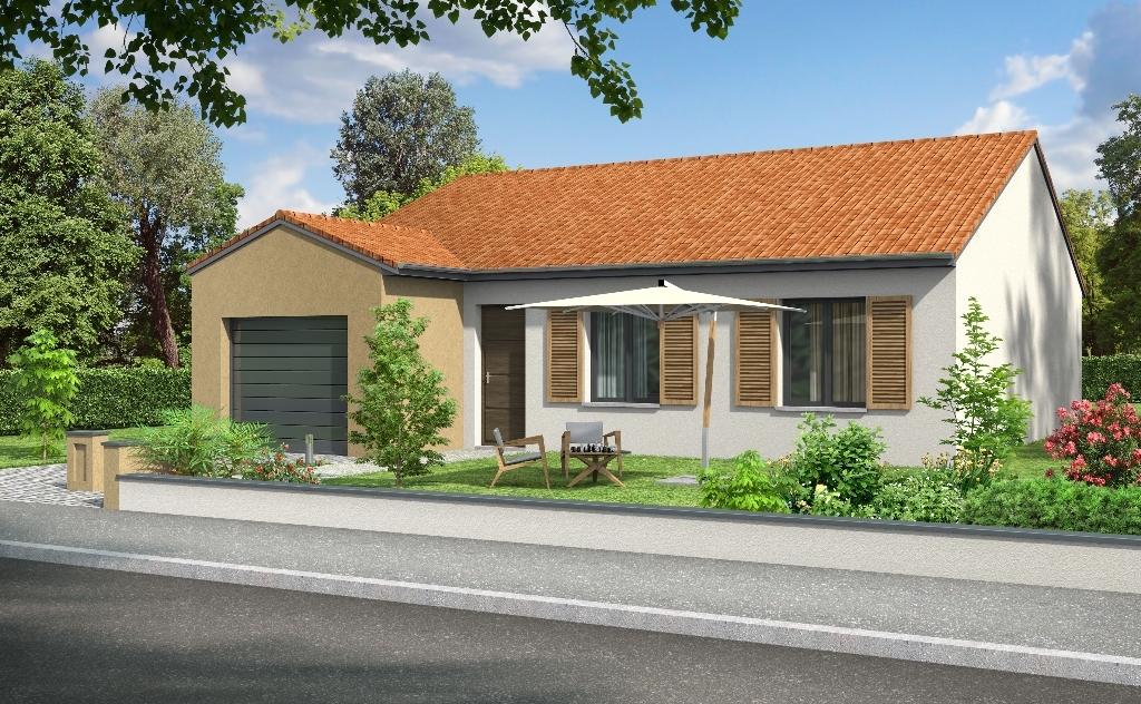 Le breuil pavillon f5 plain pied le breuil 03120 for Maison a 80000 euros neuve