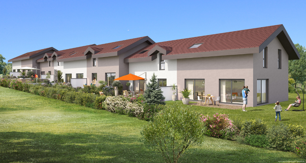 Vente Programme Neuf de 4 pièces 1 m² - NEYDENS 74160 | IMOGROUP COLLONGES SOUS SALEVE - IMOGROUP photo1