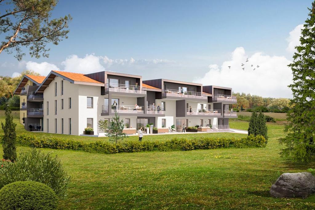 Vente Appartement de 2 pièces 45 m² - NEYDENS 74160 | IMOGROUP COLLONGES SOUS SALEVE - IMOGROUP photo1